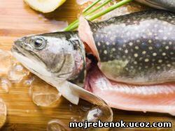На ужин приготовьте порцию рыбы
