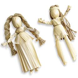 Куклы из кукурузы