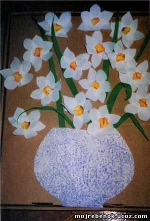 Весенний букет в подарок маме