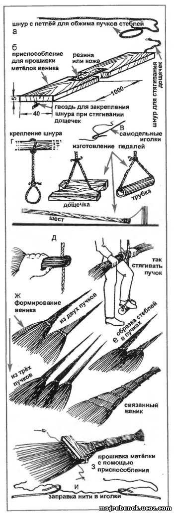 как сделать веник своими руками