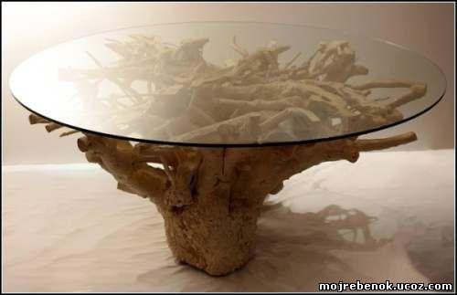 стол из корня