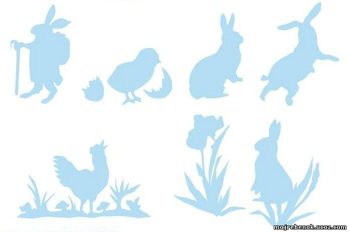 Украшаем яйца на Пасху: аппликация и декупаж